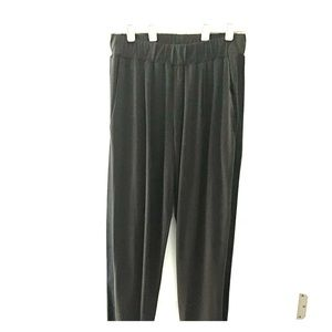 Pants - Forest Green Tack pants with black stripe on side
